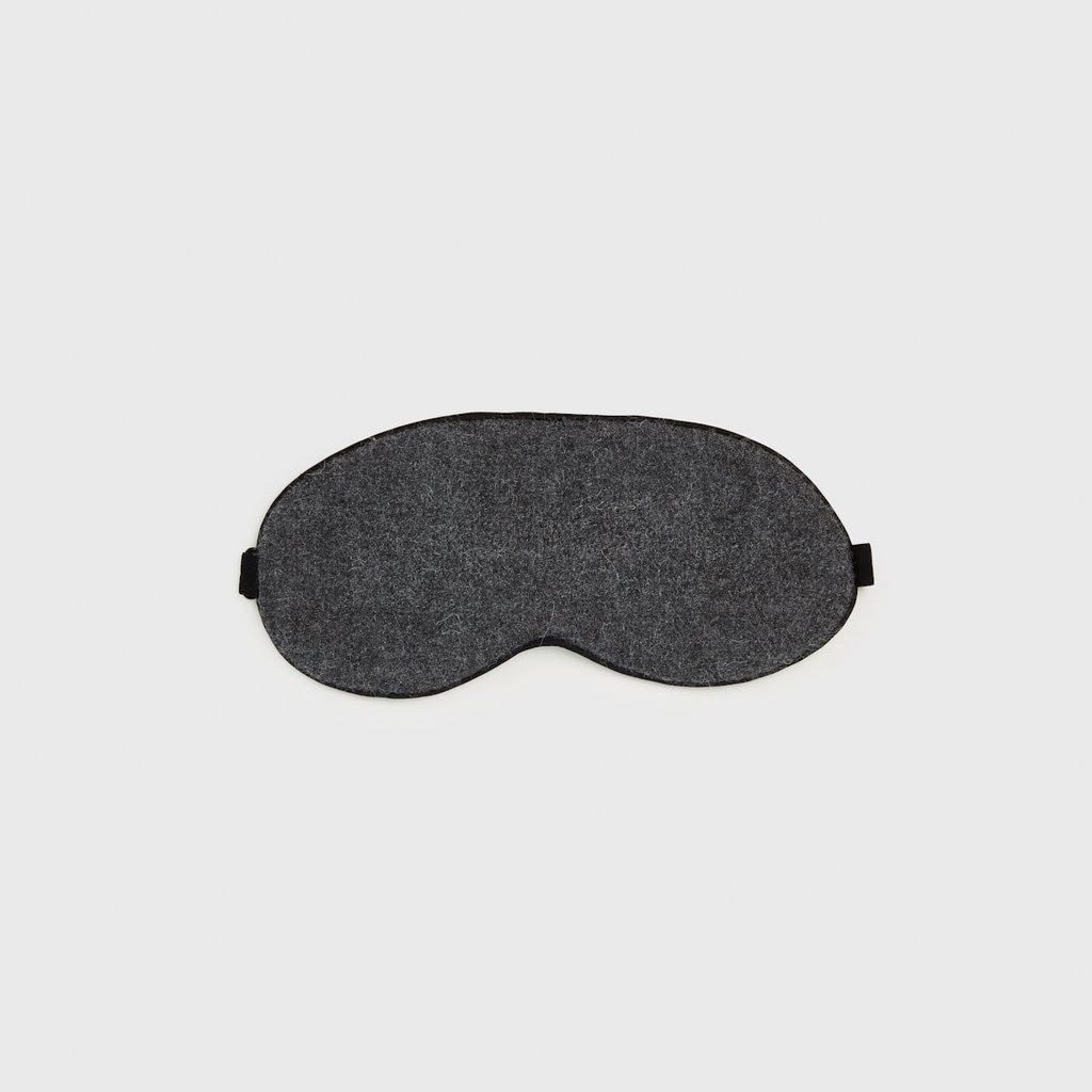Jenni Kayne Alpaca Eye Mask  For comfort on long flights or for a restful night of sleep at home that looks as good as it feels.