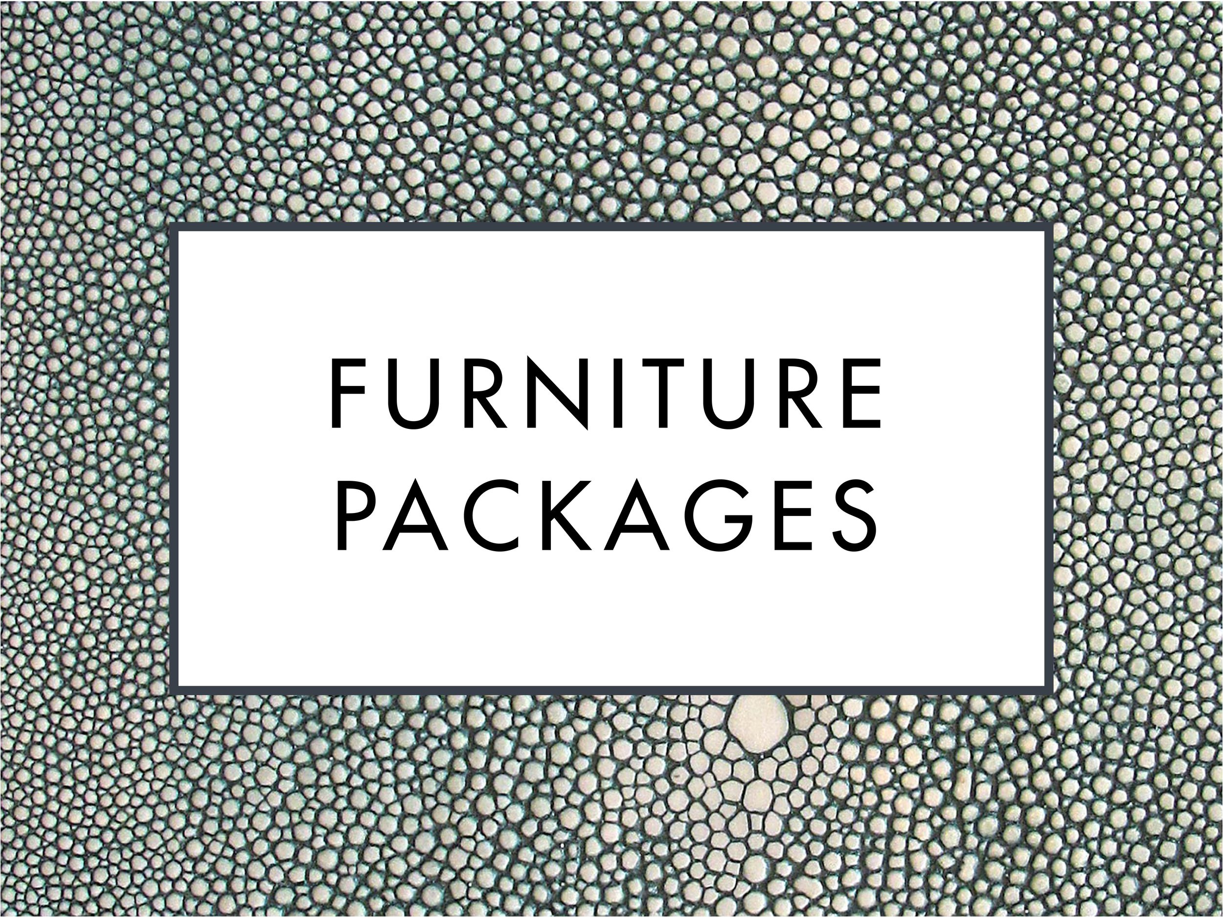 Luxury Furniture Packages