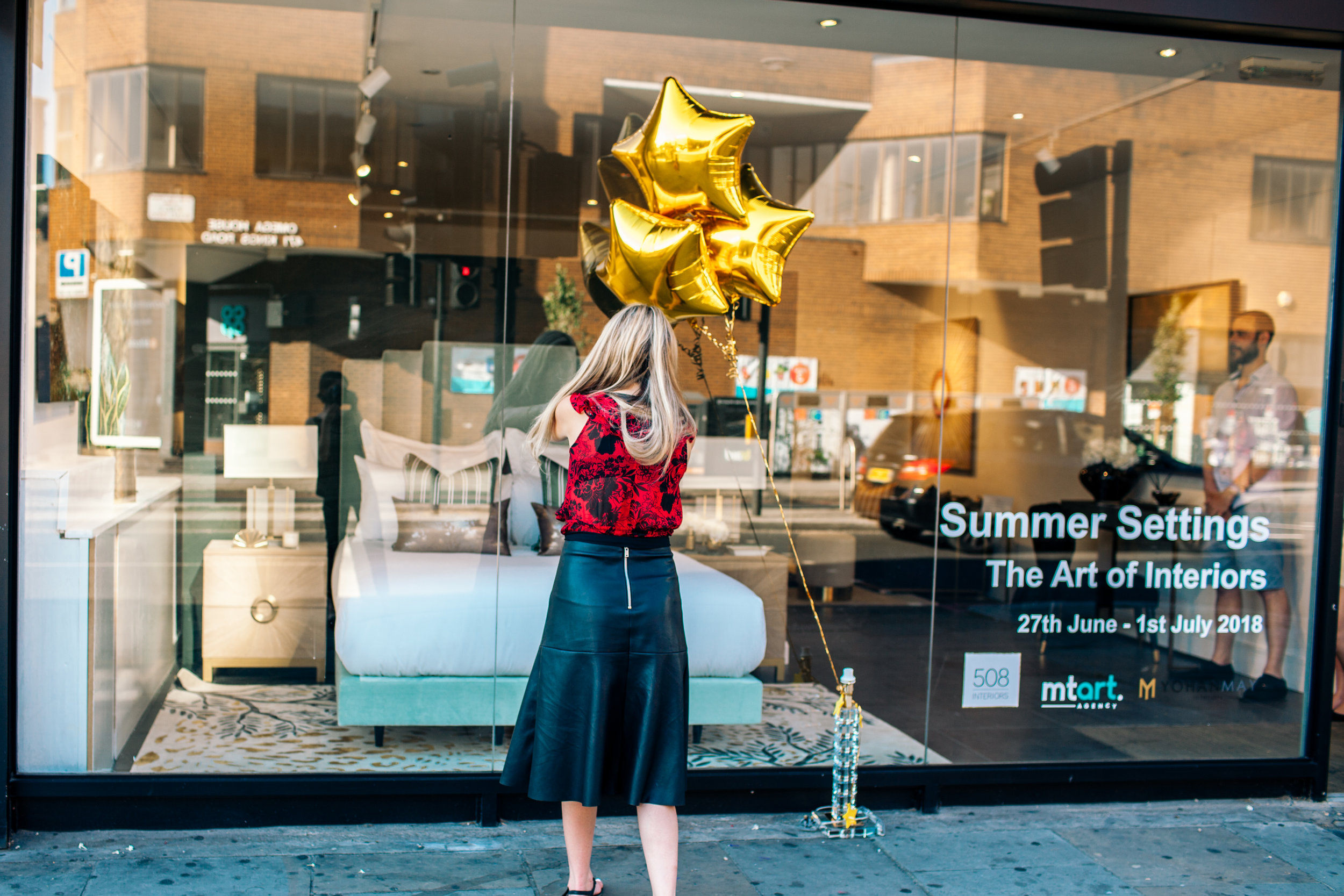 III.Created a Chelsea pop-up shop with our partners 508 Gallery& MTArt Agency -