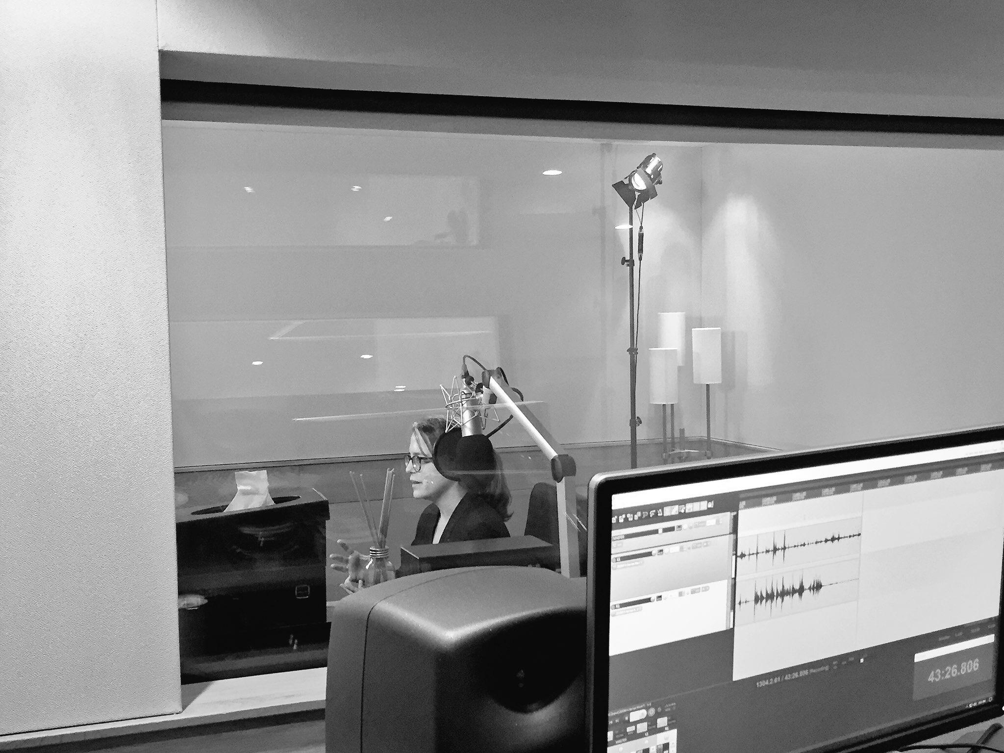 Recording studio at Metro