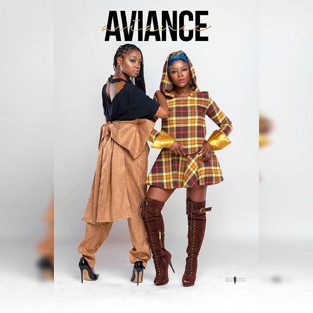 """Aviance derives from the word Ambiance replacing the """"AM"""" with """"V""""in which we create a beautiful atmosphere with our voices and energetic personalities.....🎶🎶 Styled by the one and only @landa_style_collections  #AvianceMusiq #BadGirlsOfRnB #ItsAviance #PhillyDuo #RealSingers #RealTalent #MelaninPoppin #BlackGirlMagic #BlackGirlsRock #Sisters4Life #BeyyondBeauttie #DominiqueNicole #Fall2019 #TheBestHasYetToCome"""