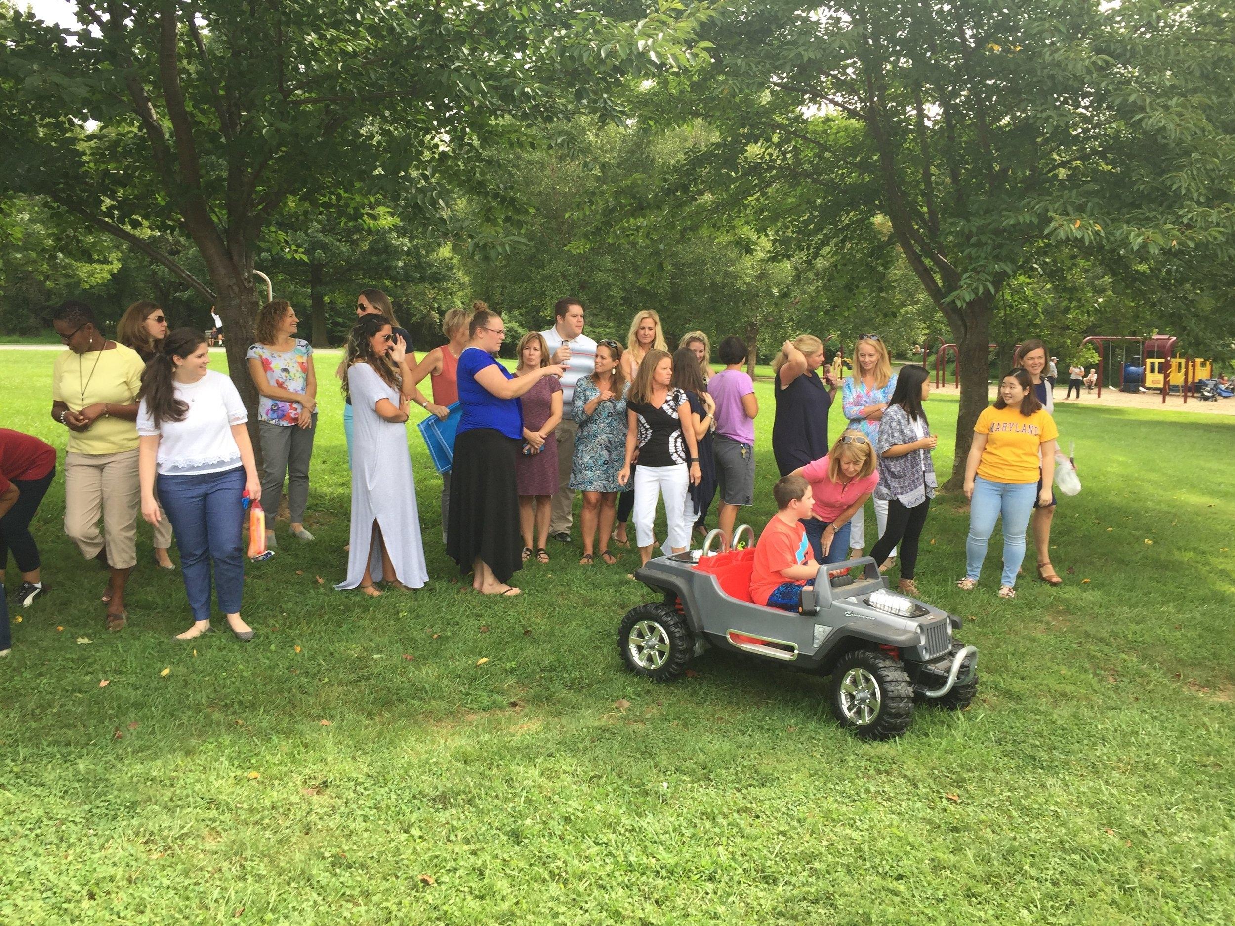Teachers' Bus Tour - meet & greet @ Cherrywood Park