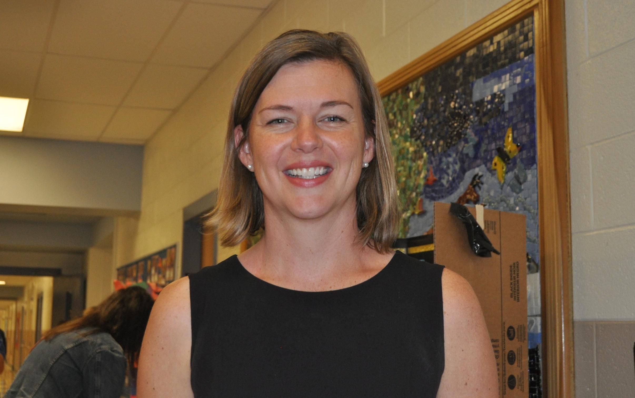 Principal Courtney Jones @ Back to School Night