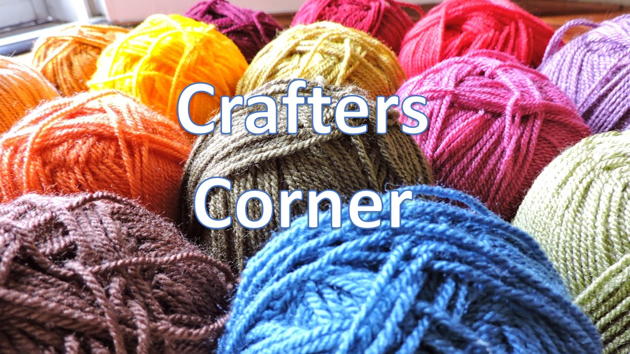 Crafter's Corner - We knit, crochet, make cards, scrapbook and fellowship together. We enjoy using our crafting talents to create items to encourage our shut ins and people in need.Contact the church office for additional information.