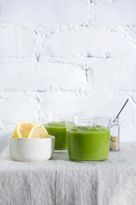 Raw, Vegan, Dairy free, Gluten free Super Green Smoothie