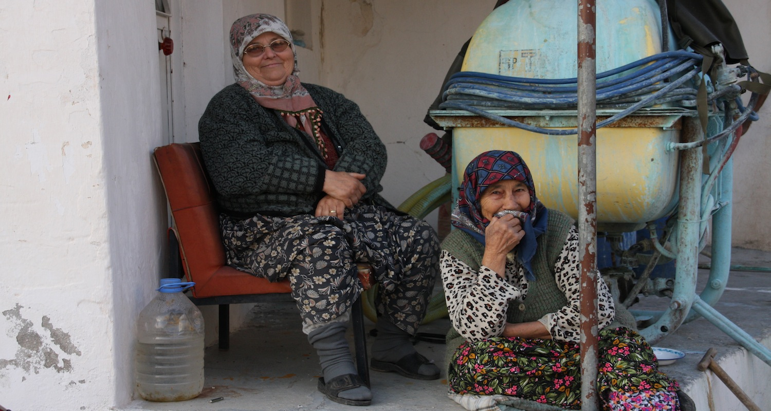 Dan Blanton, a member of Cincinnati Christian University'study-tour to central Turkey in 2009, captured this exquisite image. While first impressions can appear guarded, rural residents are quick to extend hospitality.