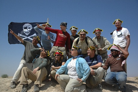 Pirates of Tell Jalul, Jordan