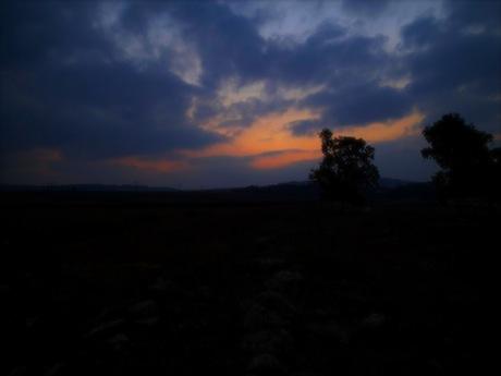 Galilean sunrise.