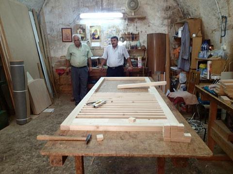 Modern carpenters of Nazareth.