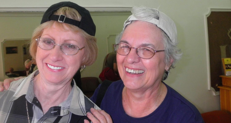 Roommates Bettye and Karen.