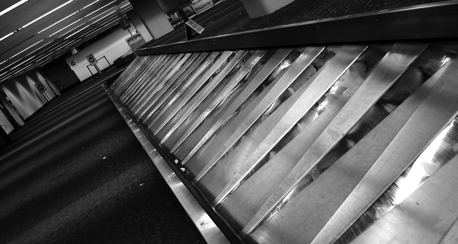 Empty carousel. Image from here .