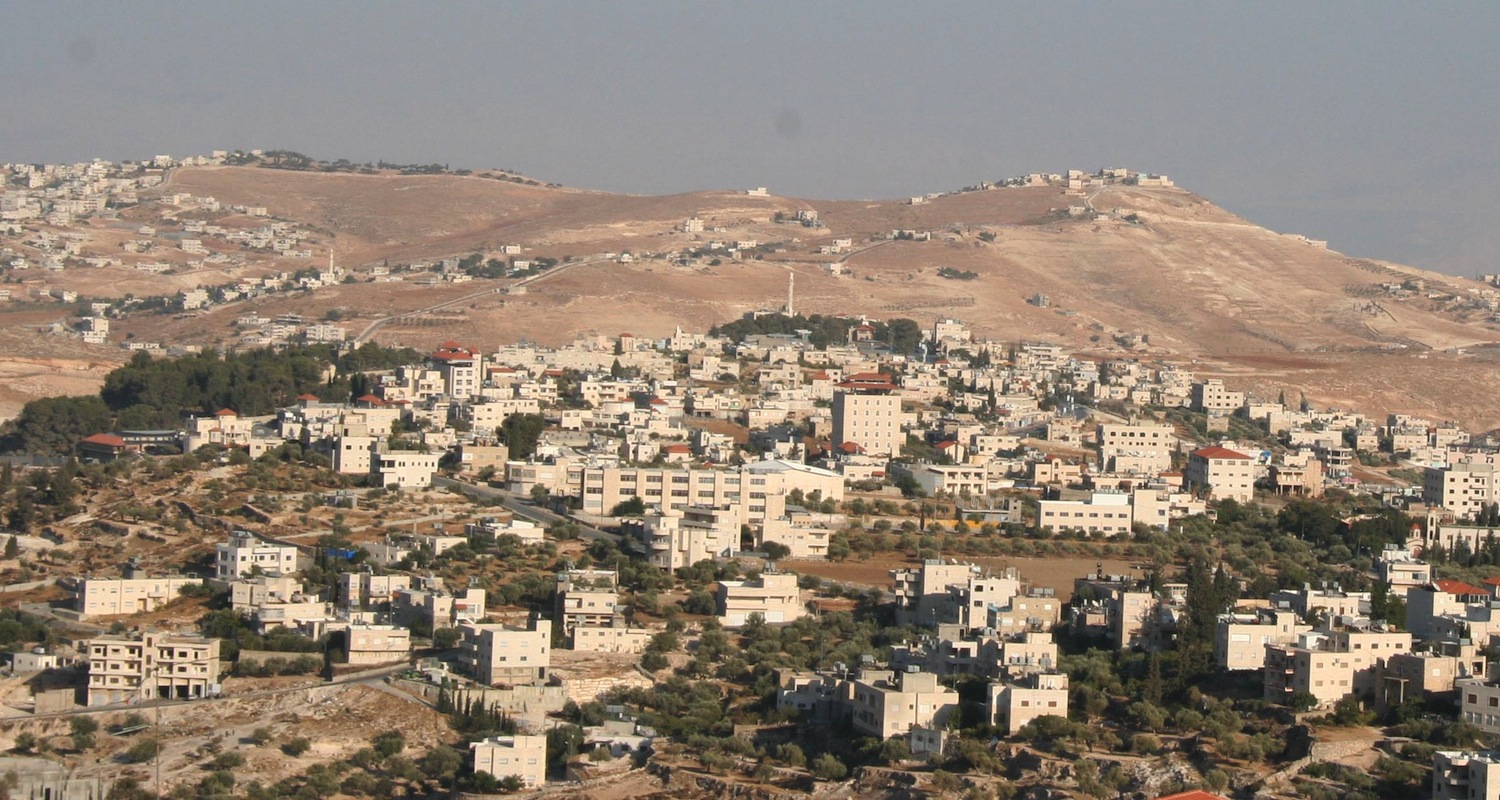 Panoramic view to Bayt Sahour. Image from here .