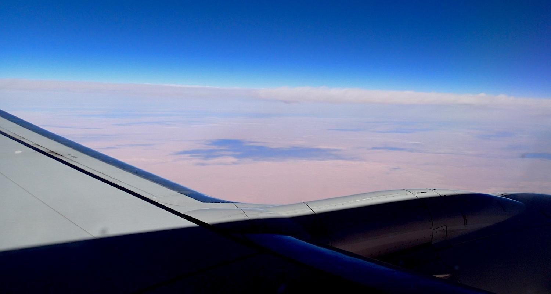 A vast desert.