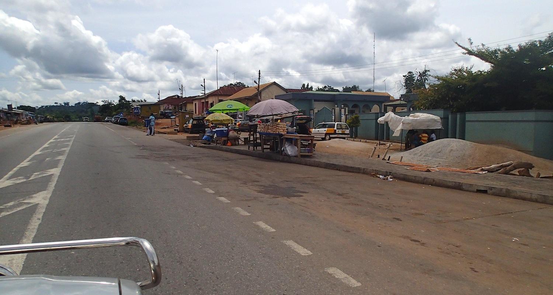 Ghana at 100 km/h.