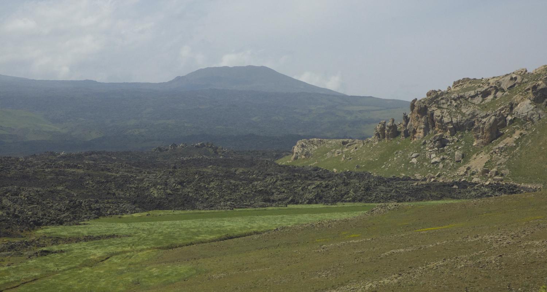 Countryside under the watch of T  endürek Dağı(5,906').