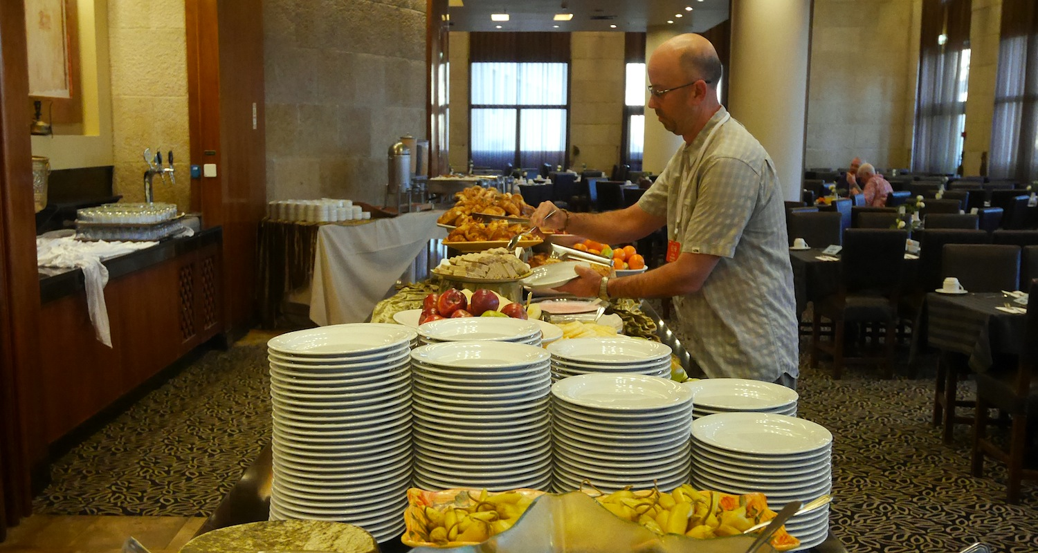 Buffet dining every morning and evening. There is something here for everybody.