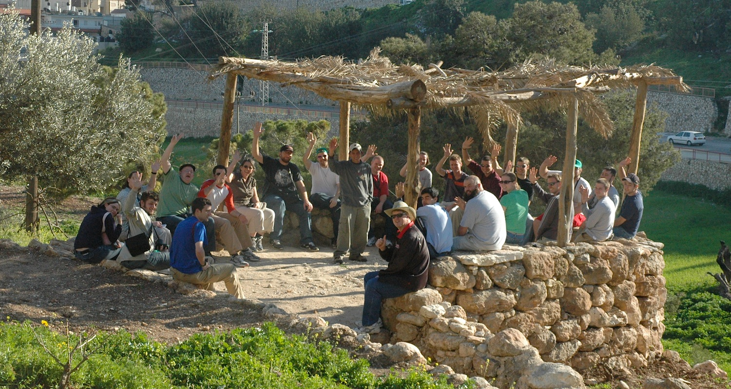 If you need to use the restroom, the group will certainly understand and be discreet. Nazareth Village, Israel-Palestine.