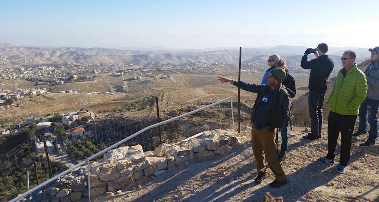 Taking in the view to Bethlehem. Image by Mike Kennedy.