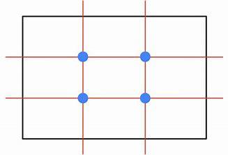 """""""Rule of Thirds"""" grid."""