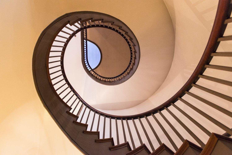 Shaker Village Staircase