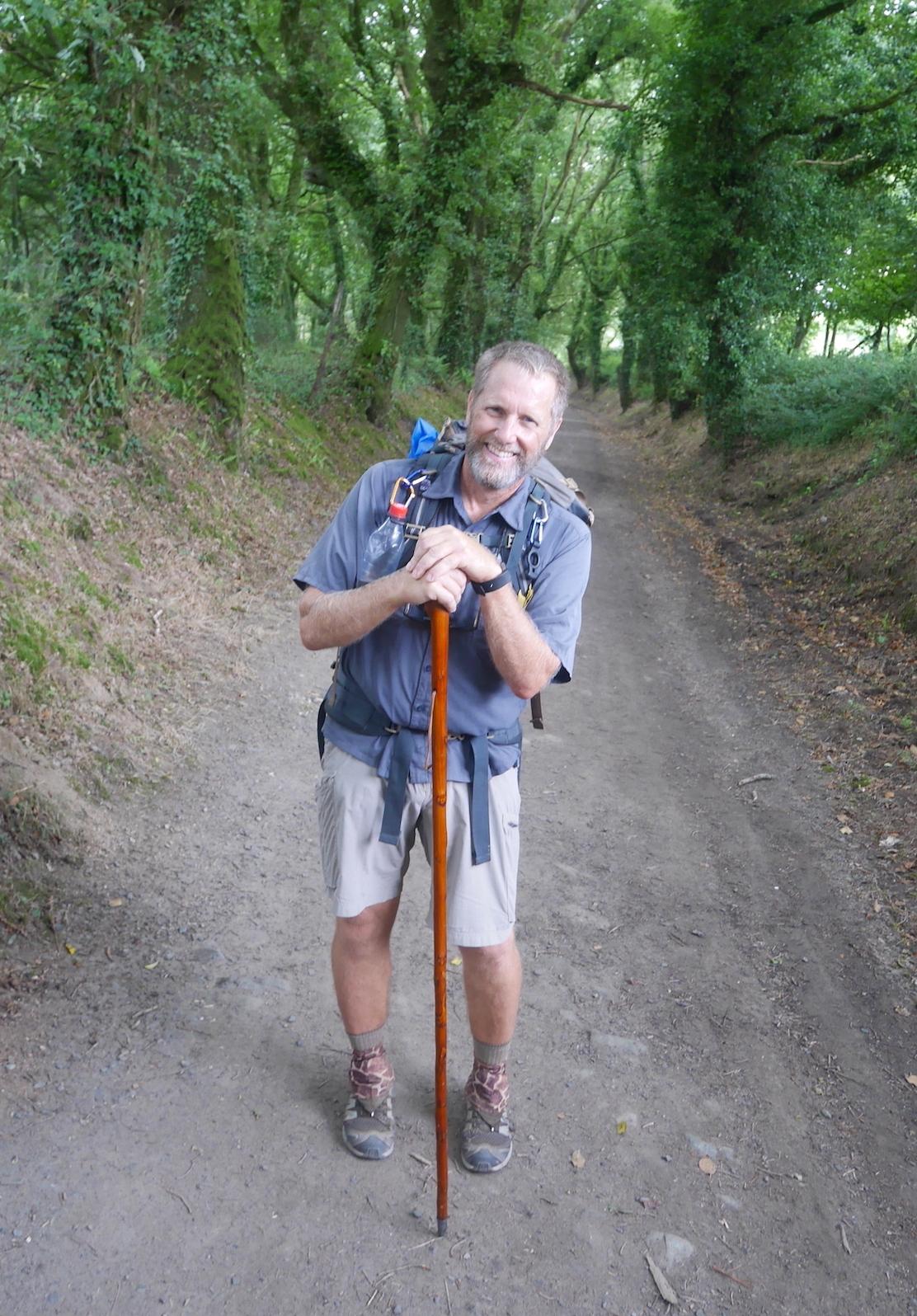 Hiking the   Camino de Santiago francés  across Spain.