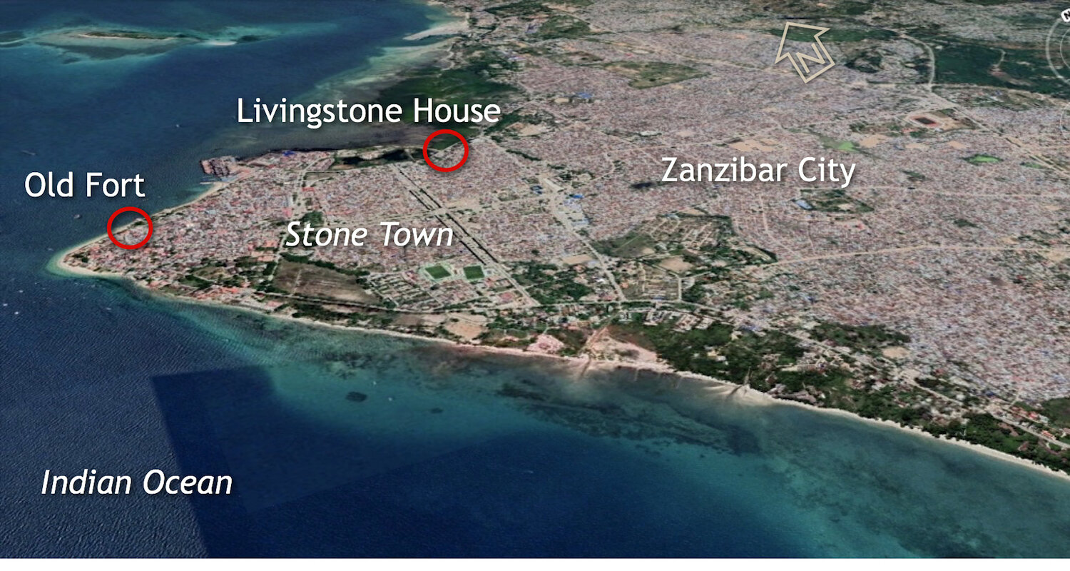 Zanzibar City is the tip of the spear pointing toward the heart of Africa.