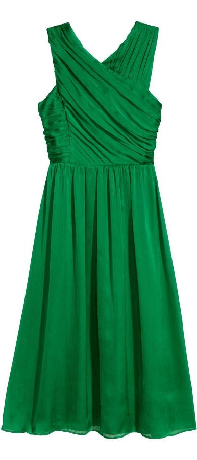 H&M Draped Dress  $69.99