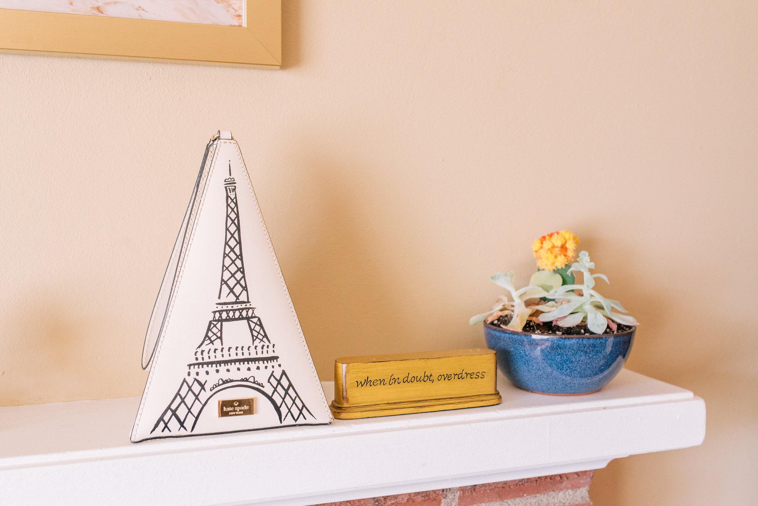 Kate Spade Eiffel Tower Purse
