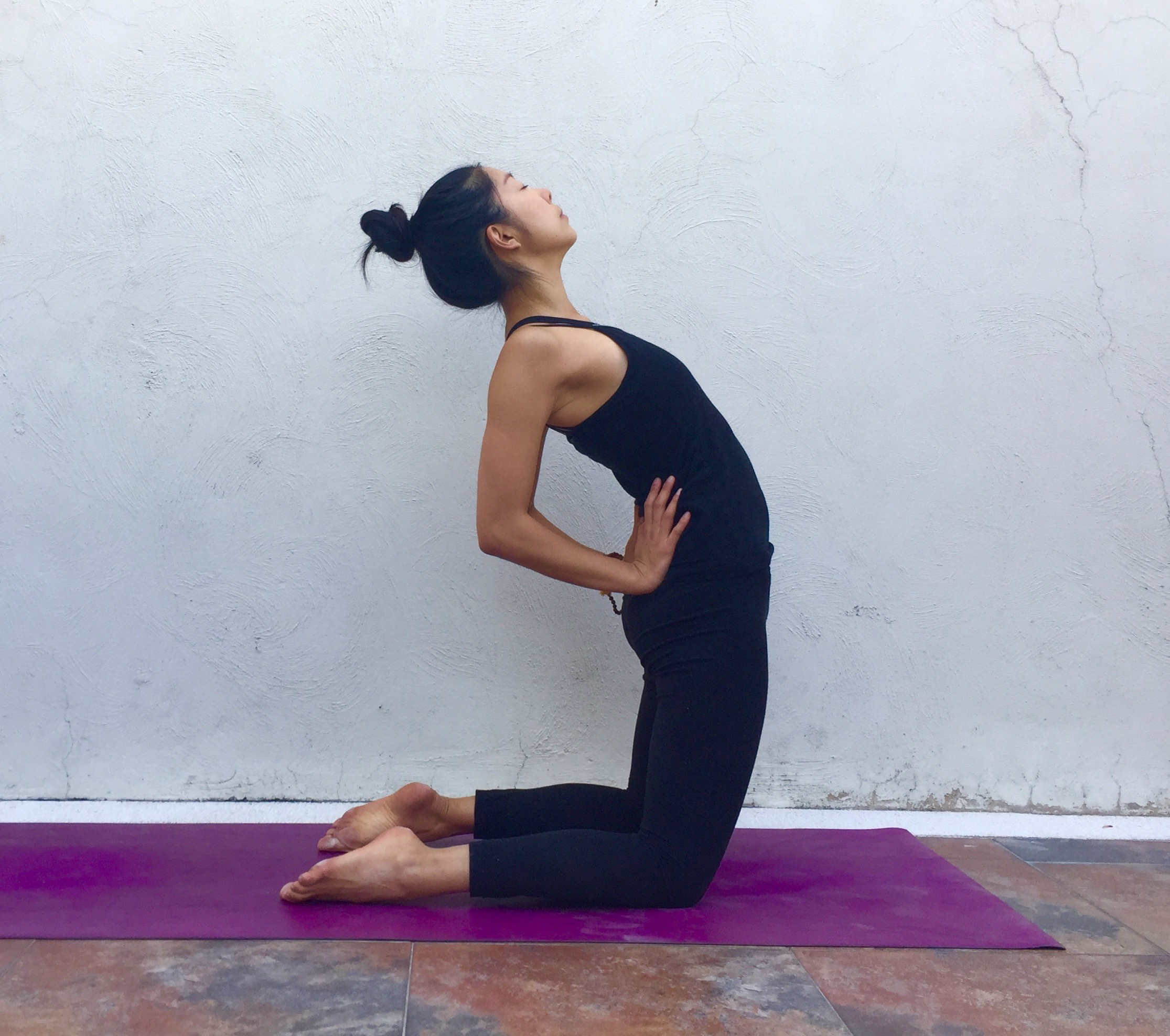 Camel variation- Annie Au Yin Yoga