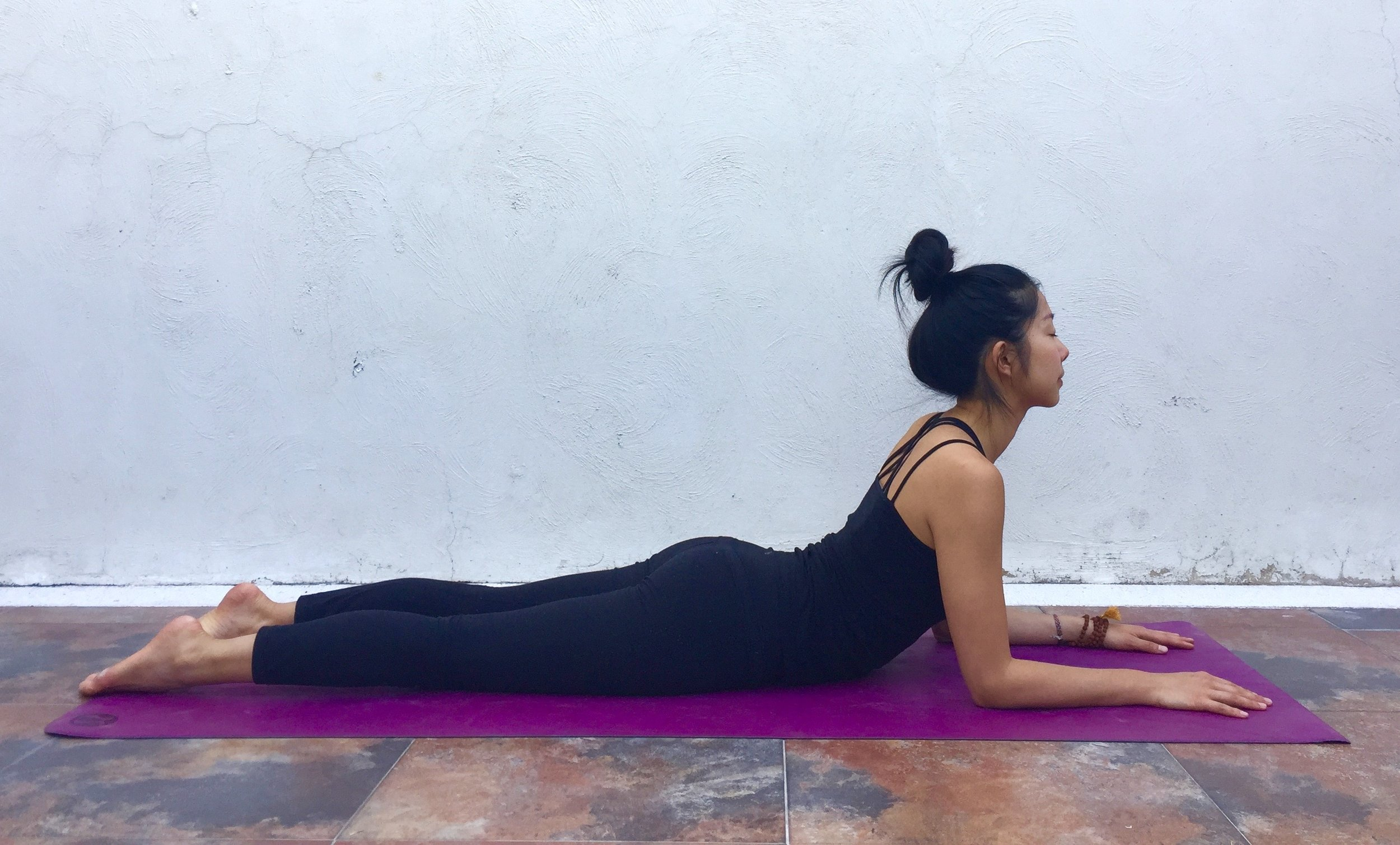 Sphinx Pose Annie Au Yoga