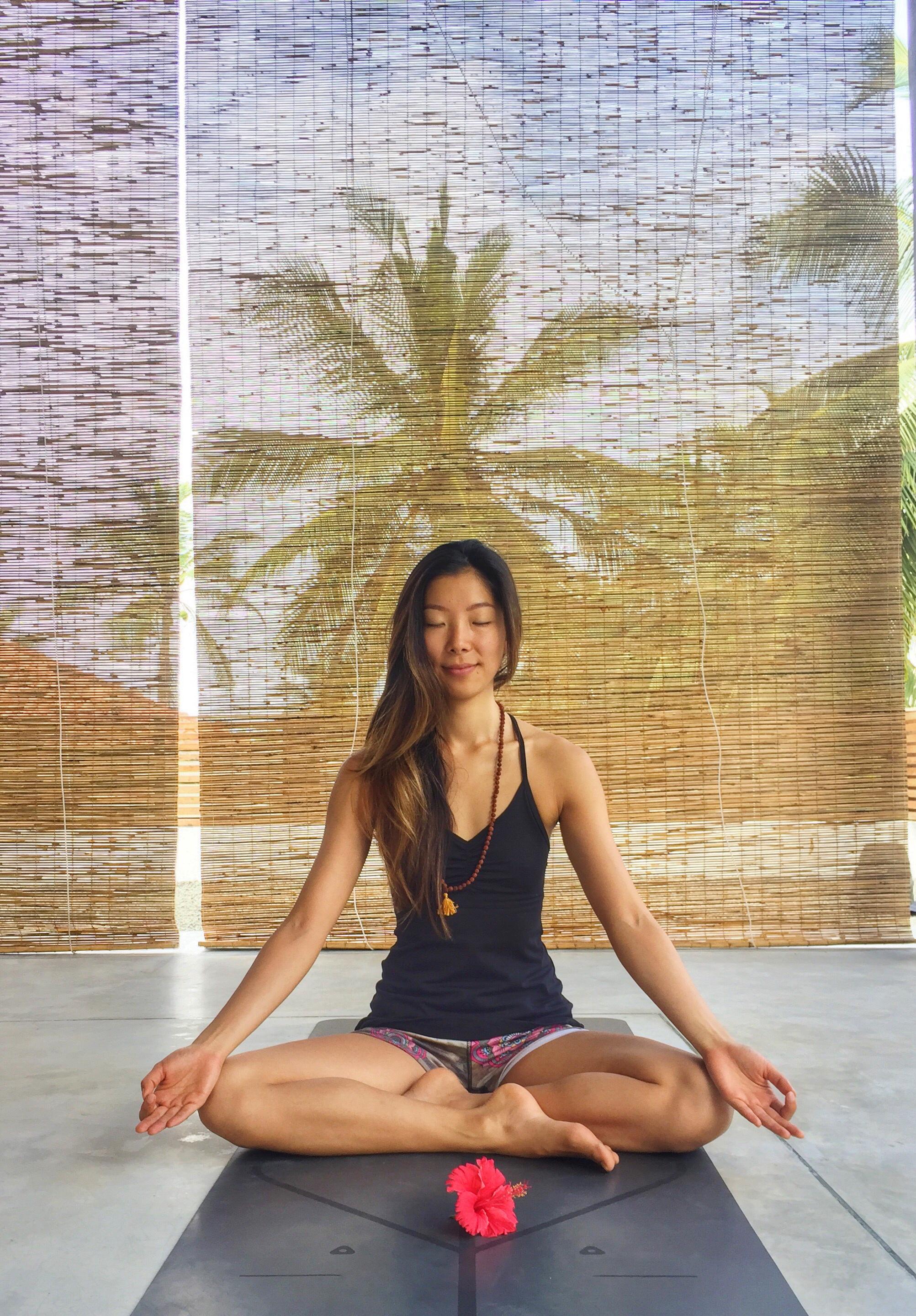 Annie Au Yin yoga teacher training 2018-2019