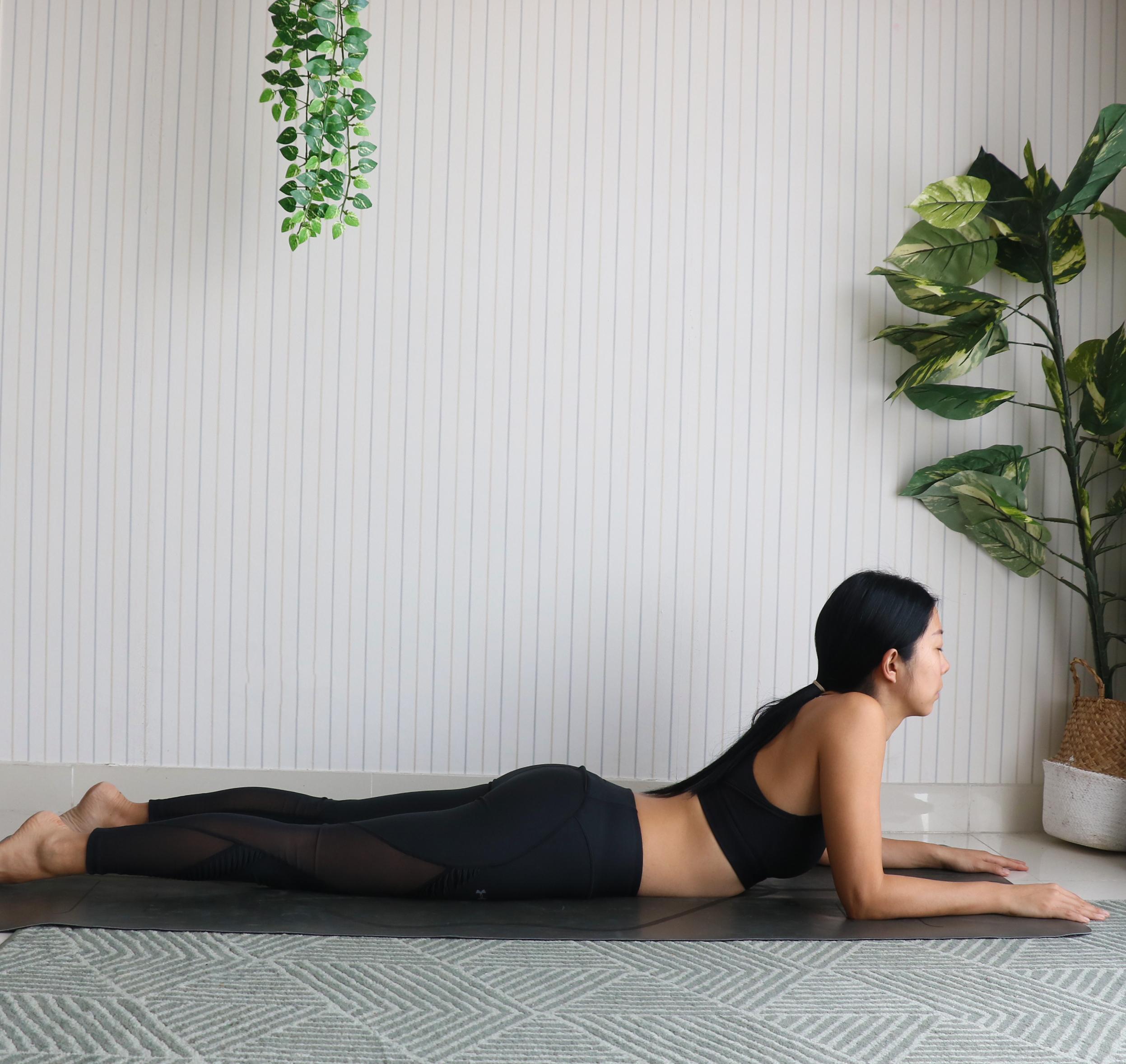 Annie Au Yin Yoga Sphinx