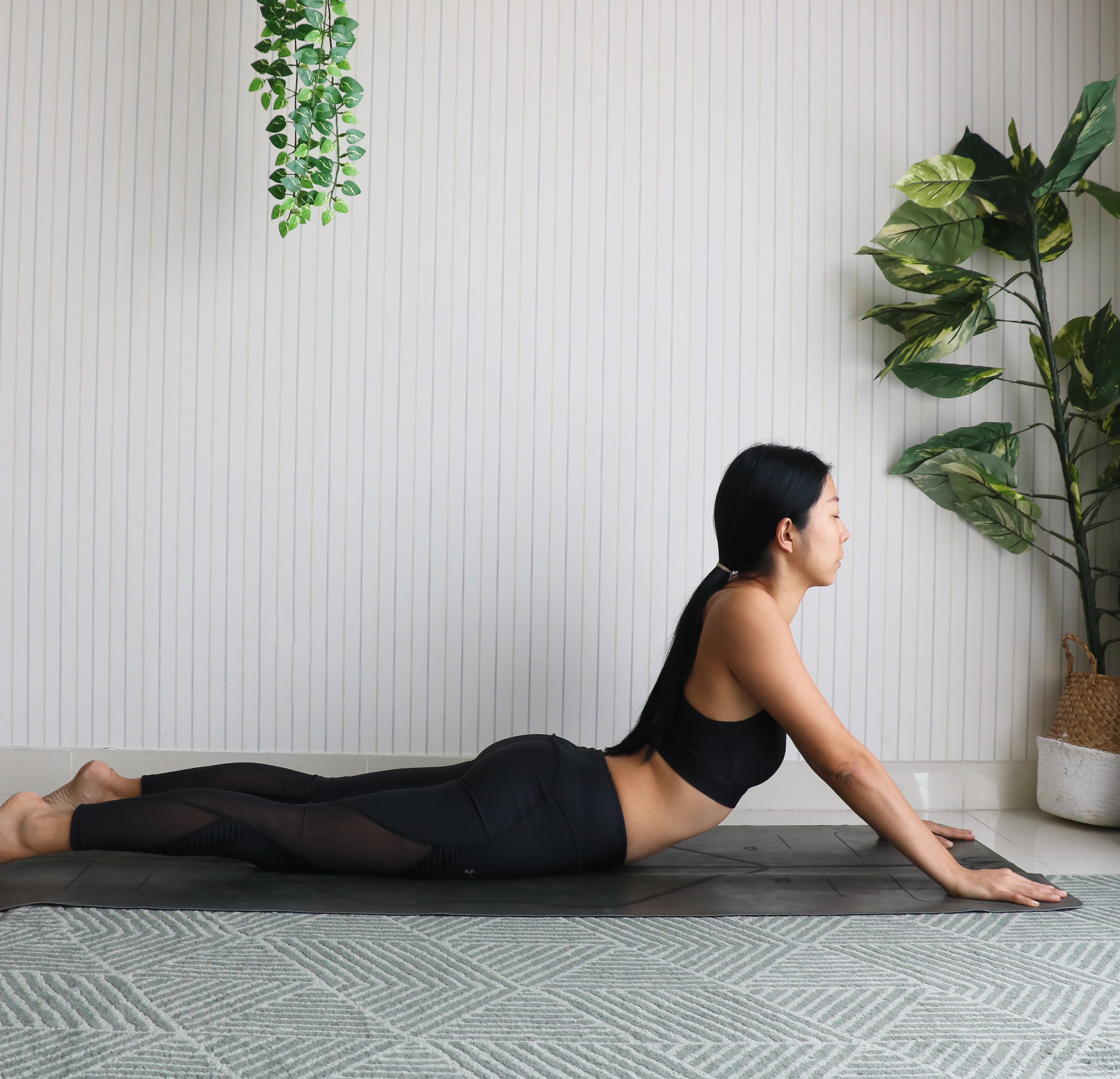 Annie Au Yin Yoga Seal Pose
