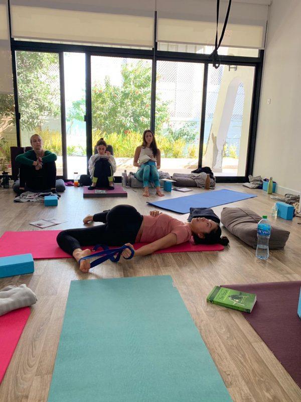 Annie au Yin yoga Chinese meridians yoga teacher training 2020