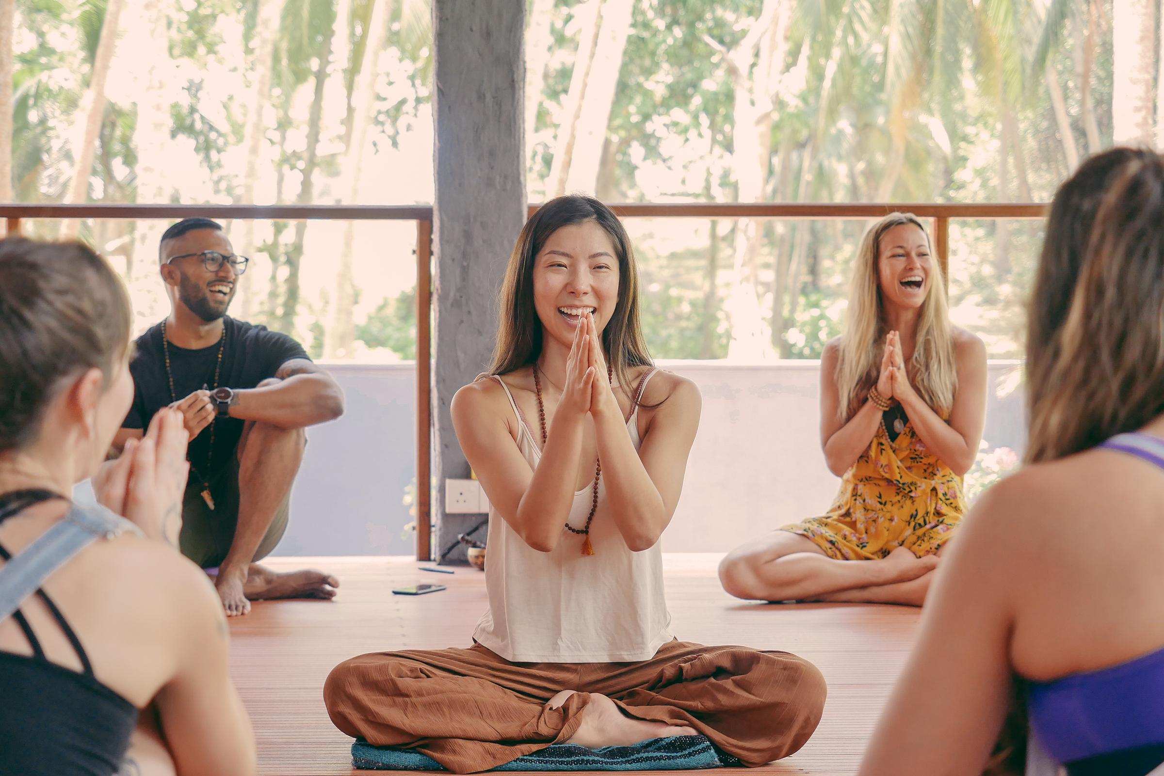 Annie Au yoga mentorship program