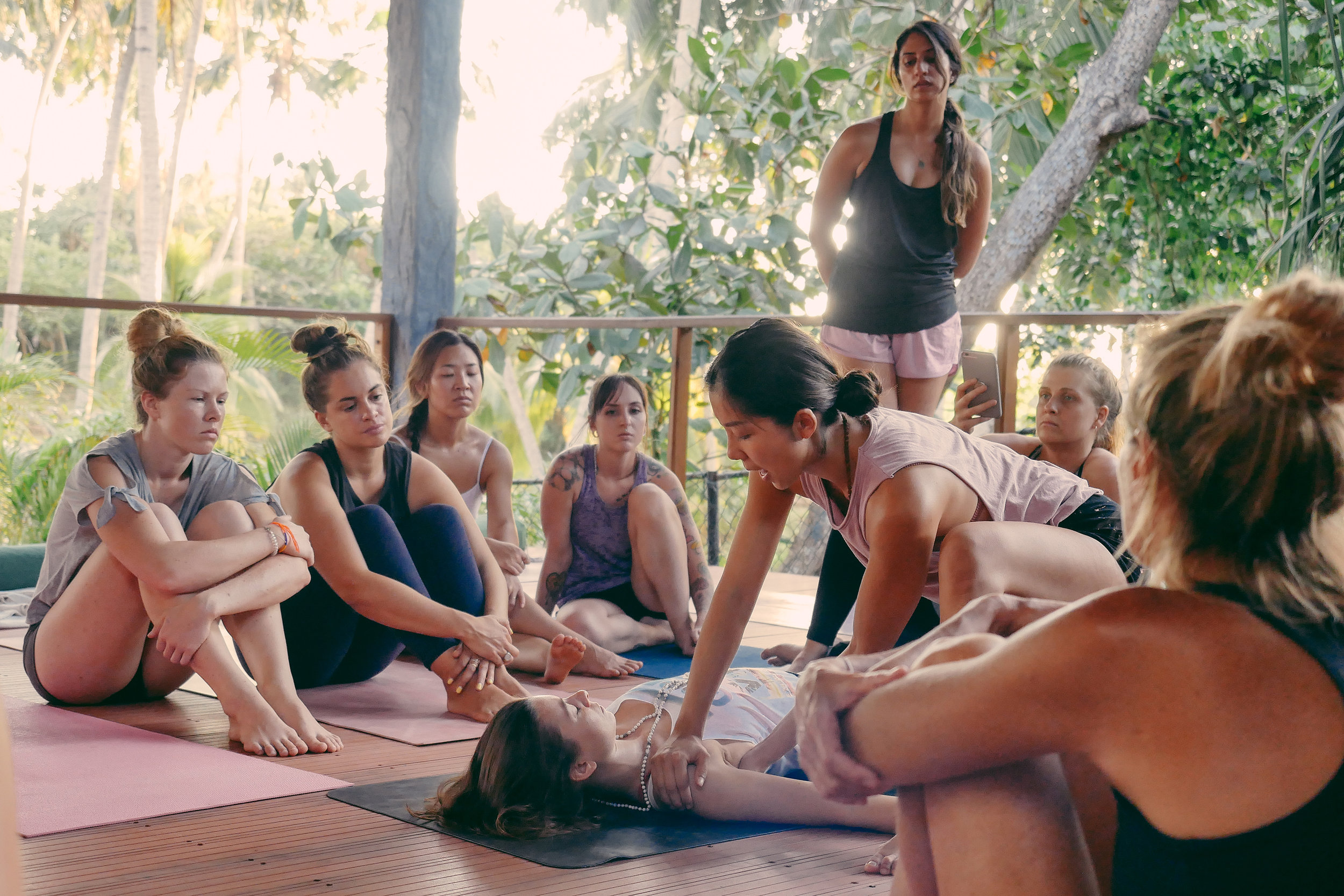Annie Au Yin yoga meridians teacher training Bali September 2019