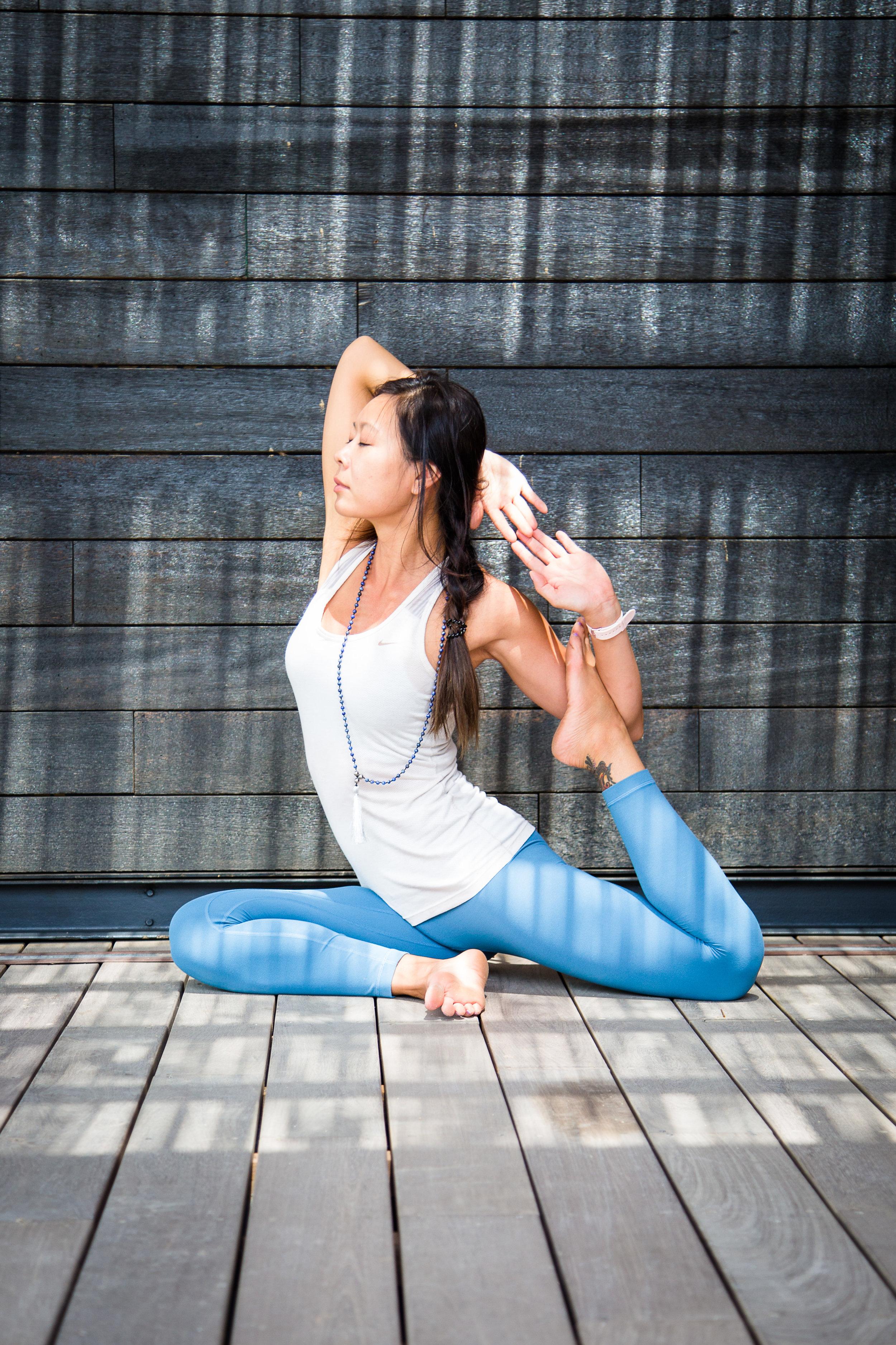 Annie Au Yin Yoga Teacher Training Yoga Nidra Cathy Sit
