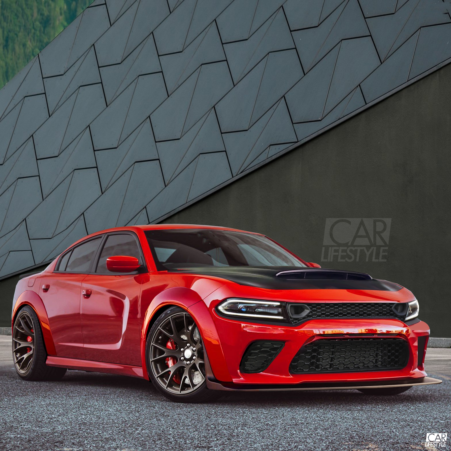 Could Dodge be building a 900hp Dodge Charger named Angel? What do you guys think of this render we made.