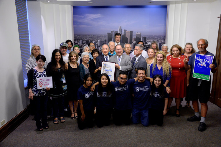 Source:  LA City Council Unanimously Votes to Adopt a Resolution on Nuclear Weapons