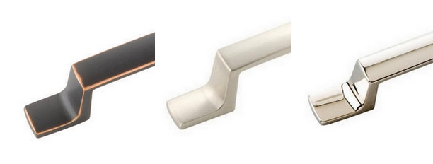 Base Material Choices:  Oil Rubbed Bronze, Satin Nickel and Bright Nickel.