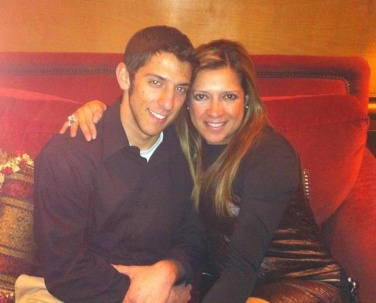 Christian and his mom