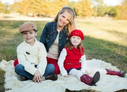 Jamie and her children