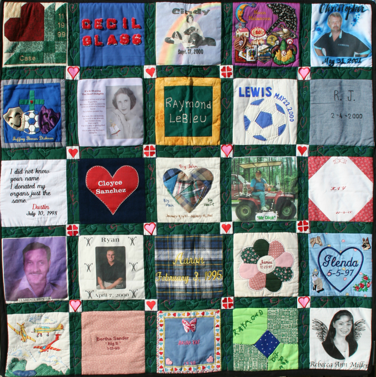 Donor Memorial Quilt 2