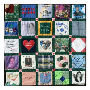 Donor memorial quilt 2