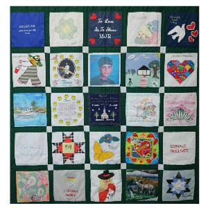 Donor memorial quilt 3