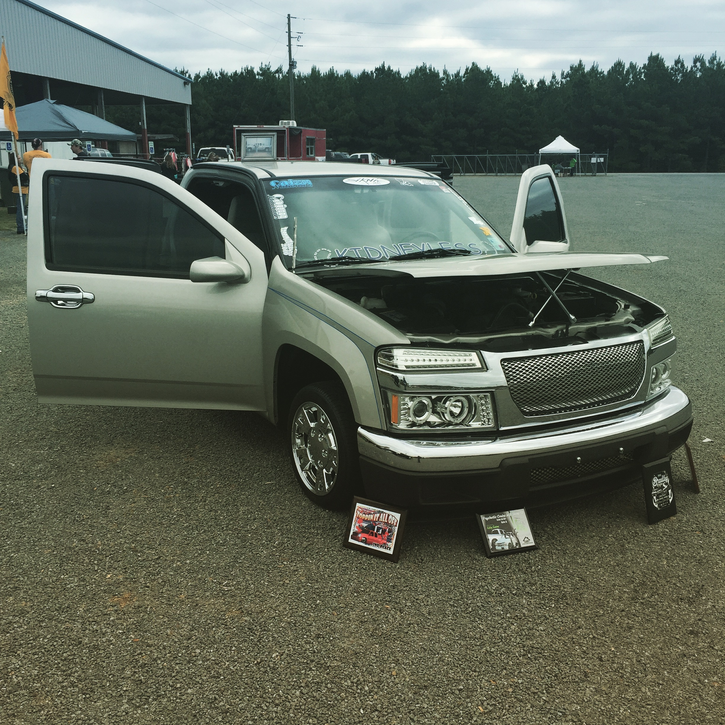 2nd Chance Car & Truck Show in honor of recipient Tommy Curry