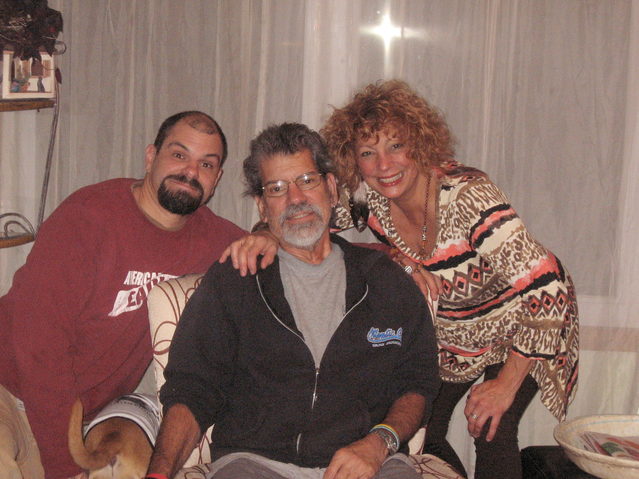 Anthony, his Mom Michele & Dad