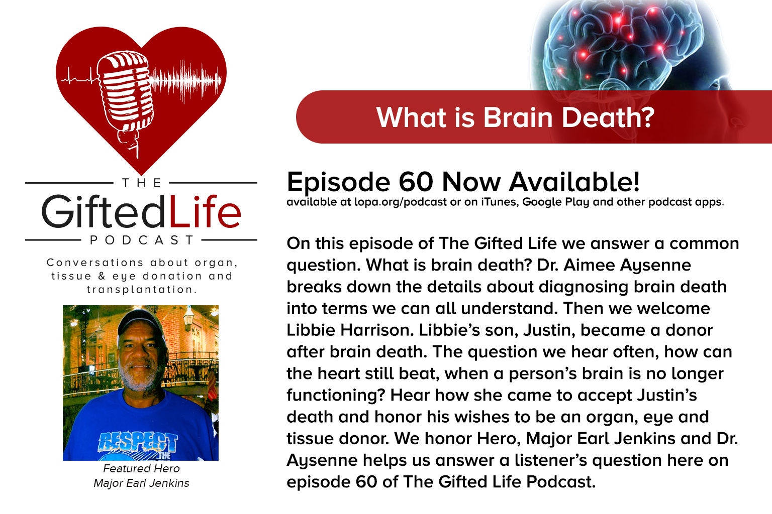 Click here to listen to episode 60 now