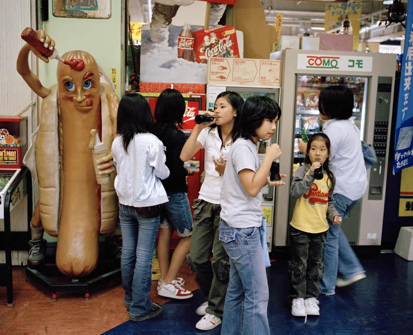 JAPAN. Okinawa. 2006. American Village - 16x12inches £600 - Edition of 6 + 2AP's - 20x24inches £1000 - Edition of 4 + 2AP's