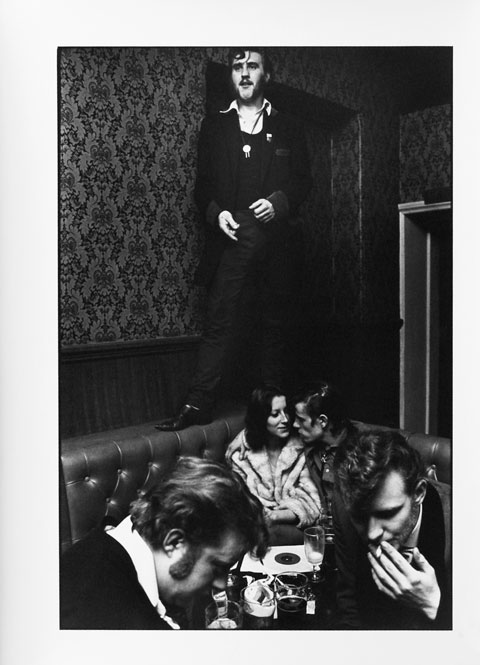G.B. ENGLAND. London. Barry Ransome in The Castle, Old Kent Road 1976.